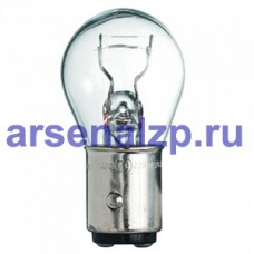 Лампа фонаря 12В А 12-21/3  2 КОНТАКТ