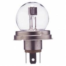 Лампа фары  А12-75/70(55/50) W Р45t, 12V, штырьковая (с юбкой)