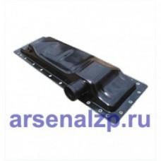 Бак радиатора (метал) ниж. МТЗ 70У.13.01075